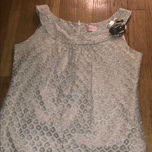 Big GIRLS Metallic sheath Dress Size 14